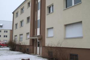 Die Gießener Dulles-Siedlung, ehemals Wohngebiet amerikanischer Soldaten, war in den Jahren 2009 und 2010 Ort des rauschhauses.