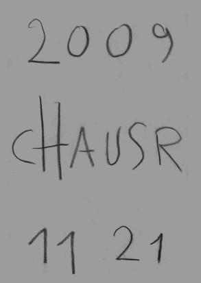 Deckblatt des rauschhaus(1)-Heftes von Norbert Umsonst